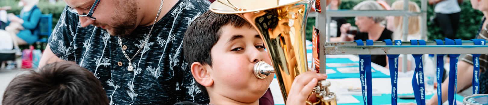 muziekles kinderen